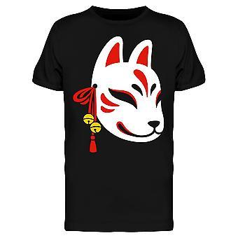 Kitsune masker Jingle Bells Tee mannen-beeld door Shutterstock