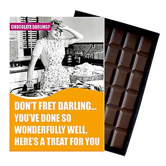 Funny Birthday Gift For Women Girlfriend Wife Boxed Chocolate Greeting Card Present CDL115