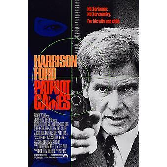 Patriot Games (1992) Original Kino Poster