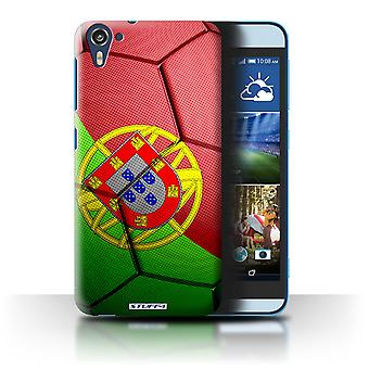 STUFF4 Case/Cover for HTC Desire 826/Portugal/Football Nations
