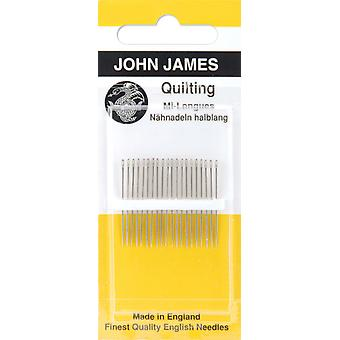 Quilting Betweens Hand Needles Size 11 12 Pkg Jj120 11