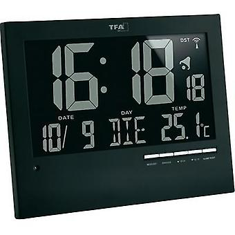 Radio Wall clock TFA 60.4508 185 mm x 230 mm x 31 mm