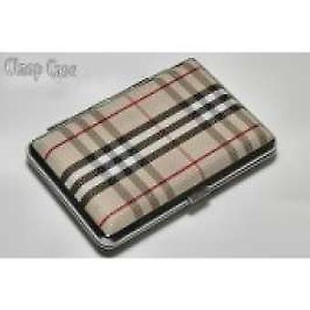 Super E Cigarette Case Tartan - RN4081