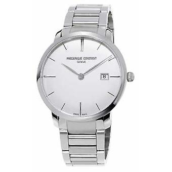 Frederique Constant Slimline Automatic Mens Stainless Steel Convex Sapphire FC-306S4S6B3 Watch