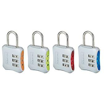 Masterlock Reset Combi Padlock 50mm - Colors