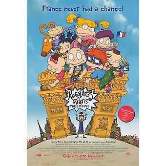 راغراتس في باريس ملصق فيلم فيلم (11 × 17)