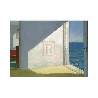 Rooms by the Sea Poster Print by Edward Hopper (32 x 24)