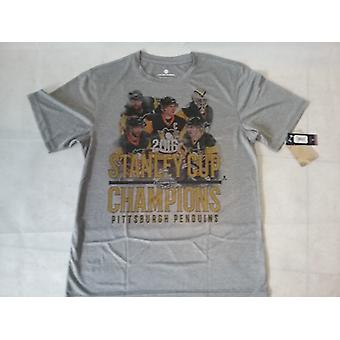 Pittsburgh Penguins Levelwear first squad 2016 Stanley Cup champions tea senior