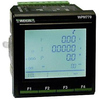 Weigel WPM-770 -V6-F1-P1 Mains-analysis device, Mains analyser