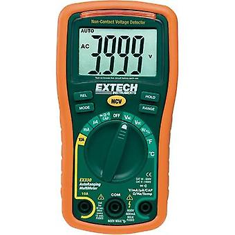 Handheld multimeter digital Extech EX330 Calibrated to: Manufacturer standards CAT III 600 V Display (counts): 4000