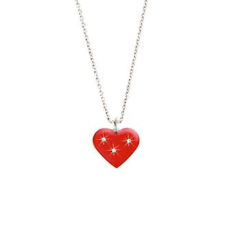 Scout kinderen ketting halsketting hart rood, girls, girls 261075200