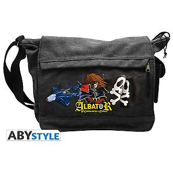 Abysse Captain Harlock Messenger Bag Corsaire De LEspace Big Size
