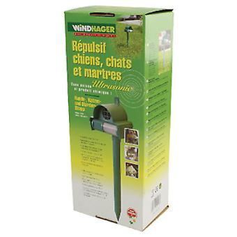windhager Ultrasonic Repellent For Dogs / Cats / Badgers (Garden , Insect and parasitics)