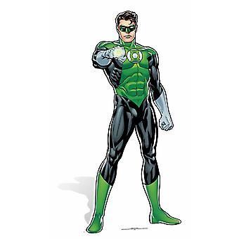 Green Lantern tegneserie stil DC Comics pap påklædningsdukke / Standee / står
