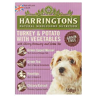 Harringtons våd Duck & kartofler 150g (pakke med 7)