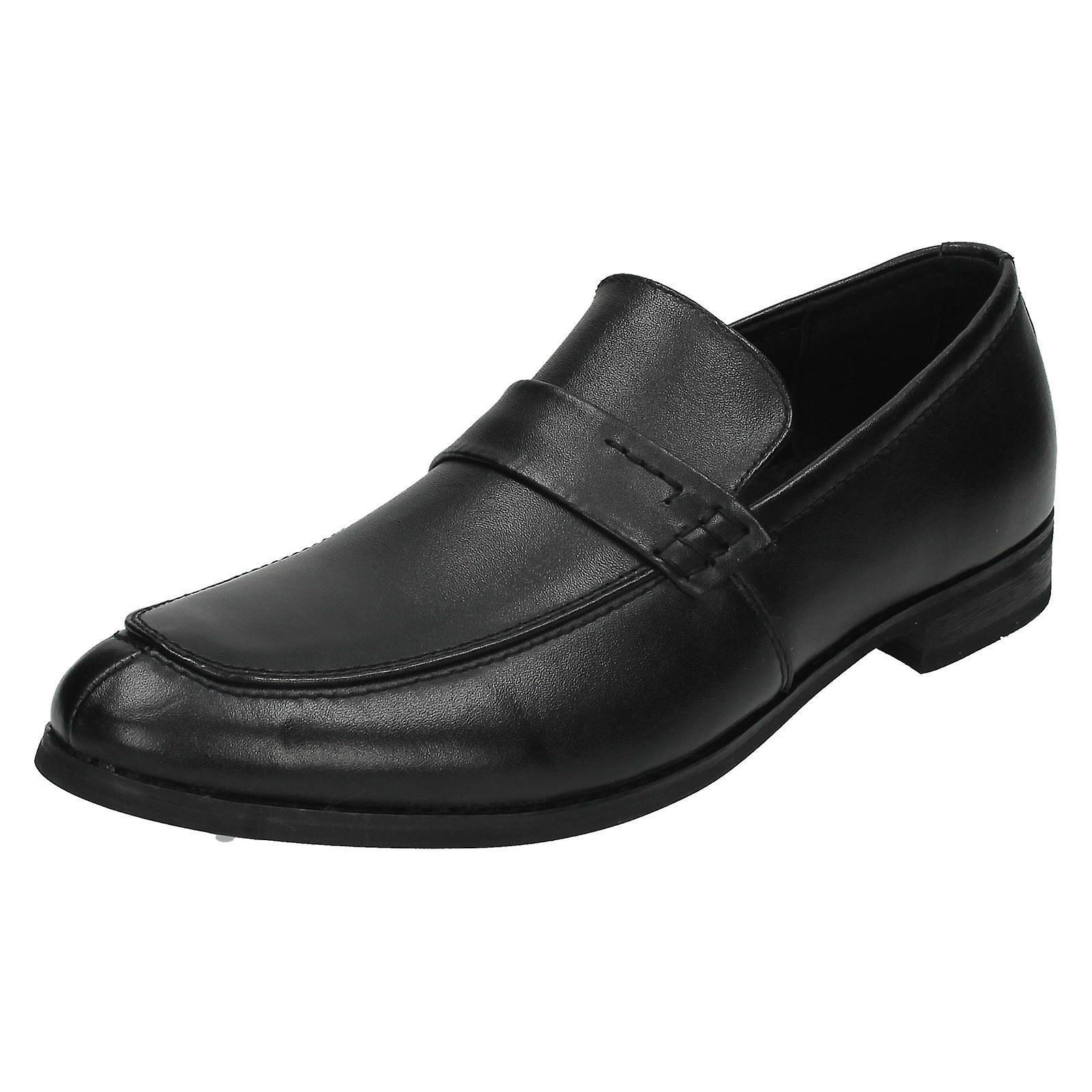Mens Maverick Slip auf formelle Schuh