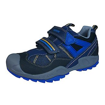 Geox J N Savage B.A Boys Trainers / Shoes - Navy