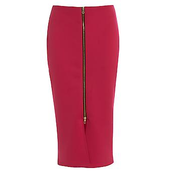 Love2Dress Front Zip Detail Skirt