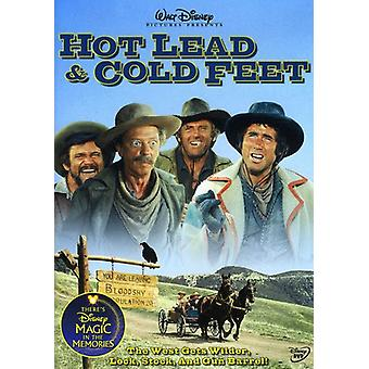 Hot Lead & Cold Feet [DVD] USA import