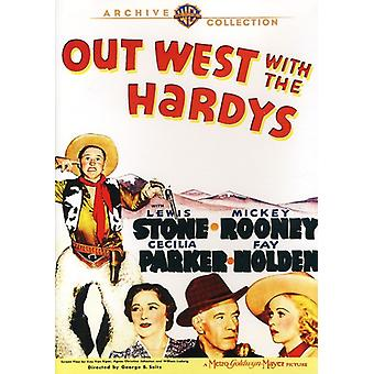 Out West with the Hardys [DVD] USA import