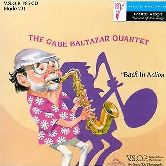 Gabe Baltazar Quartet - Back in Action [CD] USA import