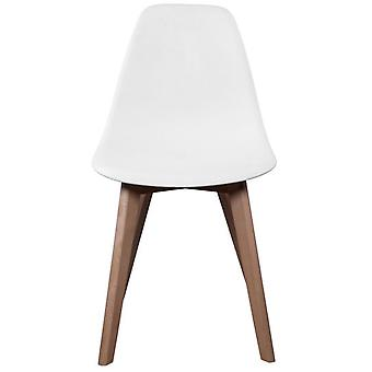 The Concept Factory Scandina Children's Chair White