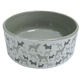 Arquivet Ceramic Dog Bowl 12 cm (Dogs , Bowls, Feeders & Water Dispensers)