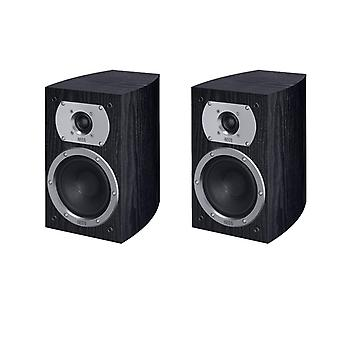 Heco Victa Prime 202, 2 way bass reflex, 110 watts max., black 1 pair new goods