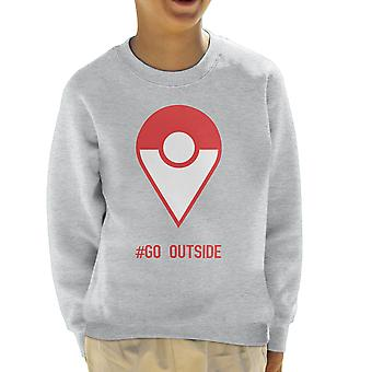 Pokemon Go Outside Kid's Sweatshirt