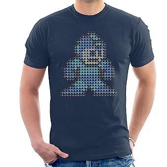 Camiseta Mega Pixel Mega Man hombres
