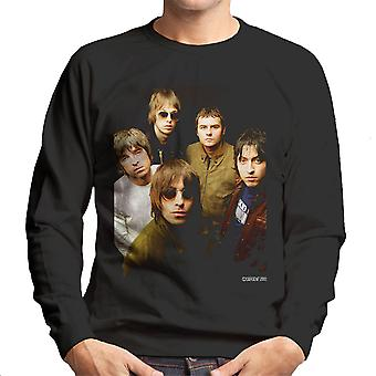 Oasis Band Photograph Men's Sweatshirt