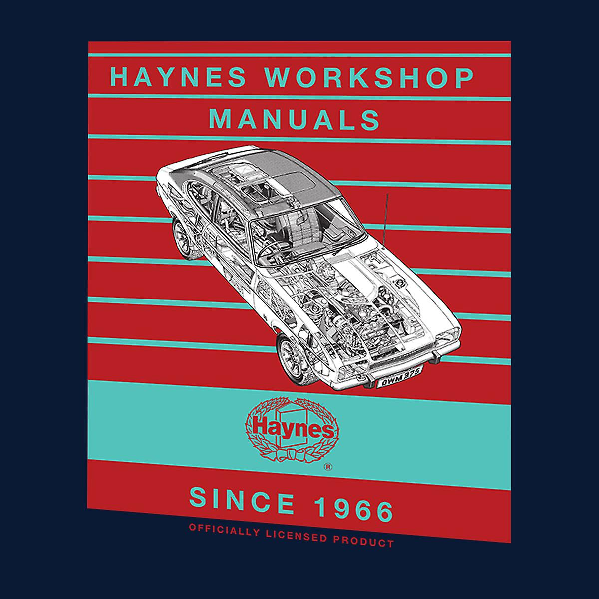 Haynes Workshop Manual 0375 Ford Capri II V6 Stripe mannen Varsity Jacket