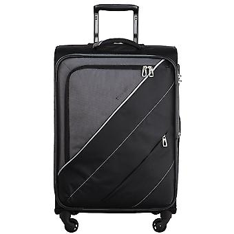 Travelite cocktail cabins 4-roller soft luggage trolley suitcase 54 cm