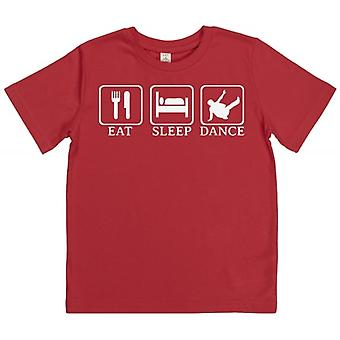 Spoilt Rotten Eat, Sleep, Break Dance Children's T-Shirt