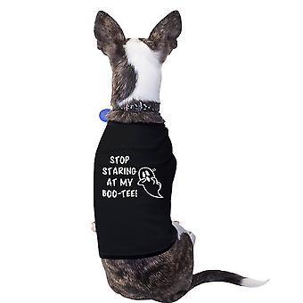 Stoppe gloede på min Boo-Cute Halloween Pet T-shirts til små hunde