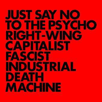 Sussi - bare sig nej til psyko højreorienterede kapitalistiske [CD] USA importen