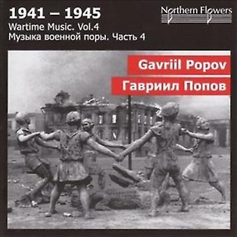 St.Petersburg State Academic Symfoniorkester - krigstid musik 4 - G. Popov - symfoni [CD] USA import