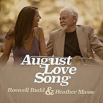 Roswell Rudd & Heather Masse - August Love Song [CD] USA import