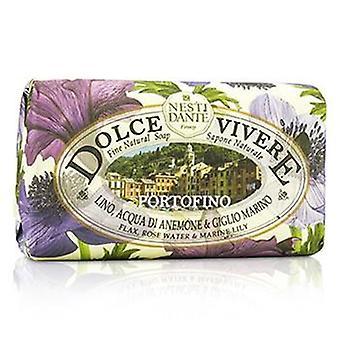 Nesti Dante Dolce Vivere Fine naturlige sæbe - Portofino - hør steg vand & Marine Lily - 250g / 8,8 ounce