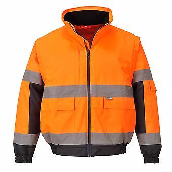 Portwest - Hi-Vis sikkerhet Workwear 2-i-1 jakke