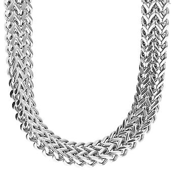 Iced out stainless steel FRANCO set - Necklace & Bracelet