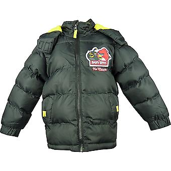 Boys Angry Birds Winter Hooded Puffer Jacket HO1220