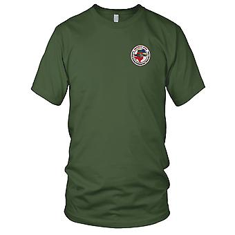 US Navy Submarine District Five Base Embroidered Patch - Mens T Shirt