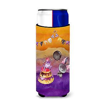 Halloween doces festa Michelob Ultra Hugger para latas magro