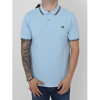 Fred Perry Twin Tipped Classic Polo - Glacier