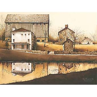 Reflections Poster Print by John Rossini (16 x 12)
