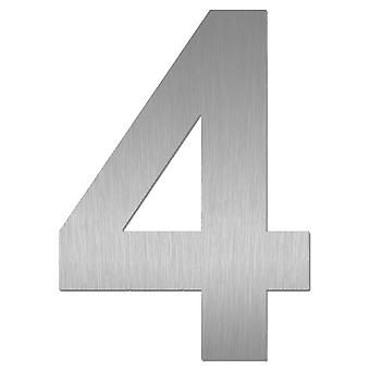 Nathan house number MIDI 4 stainless steel 64474-072