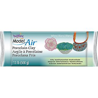 Model Air Porcelain Clay 1.1lb-White AD3350