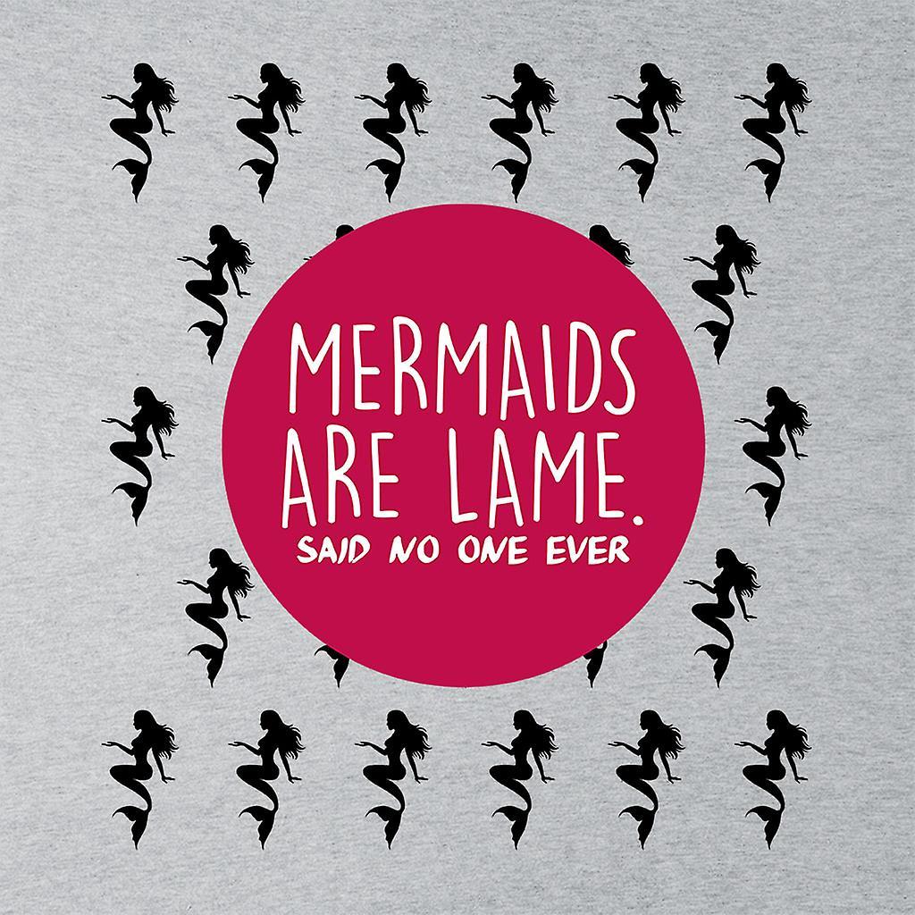 Mermaids Are Lame Said No One Ever Kid's Varsity Jacket