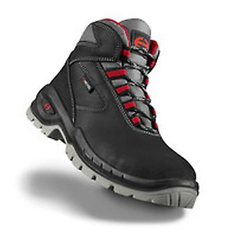 Uvex 6263800 Size 9 Suxxeed S3 Lightweight Safety Boots Black/Grey/Red